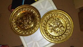 Vintage Copper Embossed Wall Plates in Hopkinsville, Kentucky