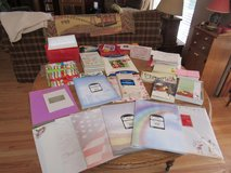 Assortment of Stationary, Photo Paper, Card Envelopes, etc in Sandwich, Illinois