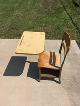 School Desk in Fort Knox, Kentucky