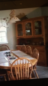 China and table with 10 chairs in Kingwood, Texas