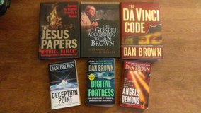 Dan Brown etc... (6 books) in 29 Palms, California