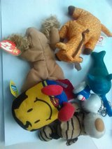 Assorted soft toys in Bartlett, Illinois