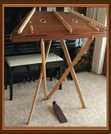 Dusty Strings PD40 Piano Hammered Dulcimer with stand, case, hammers, tuner in Cherry Point, North Carolina