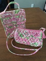 "Vera Bradley ""Pinwheel Pink"" crossbody purse & lunch bag in Warner Robins, Georgia"