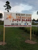 Techstar auto glass in Kingwood, Texas