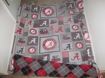 Alabama reversible fleece blanket in Columbus, Georgia