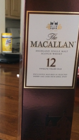 The MACALLAN 12 in Fort Irwin, California