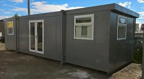 Portable Cabin Portable Office Site Office Welfare Unit Portable Building Shipping Container in Okinawa, Japan