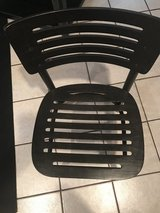 IKEA black chairs in Chicago, Illinois