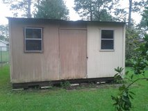 12x16 storage building in Lake Charles, Louisiana