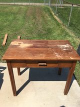 Wood desk with Drawer in Fort Knox, Kentucky