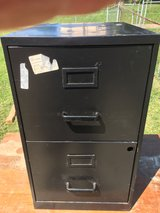 Black 2 Drawer File Cabinet in Fort Knox, Kentucky