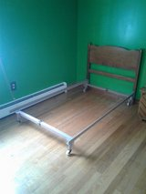 Twin bed and stand in Watertown, New York
