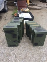 10 extra tall Metal Ammo Cans in Camp Lejeune, North Carolina