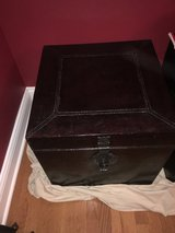 "20"" Cube coffee table trunk in Naperville, Illinois"
