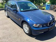 BMW 316 ti- model 2004- new inspection in Hohenfels, Germany