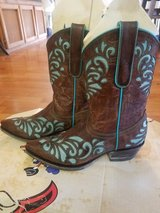 Cow girl boots in Vacaville, California