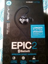 Jlabs EPIC 2 bluetooth wireless sport earbuds in Barstow, California