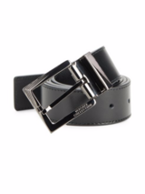 Versace Collection Solid Leather Belt Size 40 in Ramstein, Germany