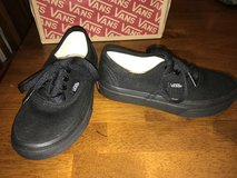 Kids NEW size 12.5 All Black Vans Shoes in Fort Leonard Wood, Missouri