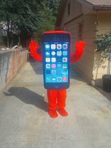 IPhone costume character in Fort Benning, Georgia