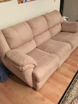 DUAL RECLINER SOFA/3rd PRICE REDUCTION/WOULD LIKE GONE in Quantico, Virginia