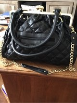 Black Leather Purse in Fort Campbell, Kentucky