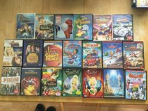 Assortment of Disney DVDs in Perry, Georgia