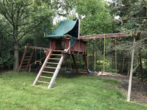 Backyard Playground Set in Glendale Heights, Illinois