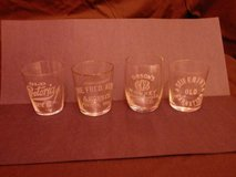 18 Pre-Prohibition Shot Glasses - 100 Years Old and More!!! in New Lenox, Illinois