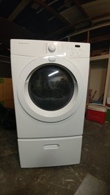 Frigidaire Gas Dryer w/ pedestal in Vacaville, California
