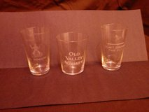 17 Pre-Prohibition Shot Glasses - 100 Years Old and More!!! in Lockport, Illinois