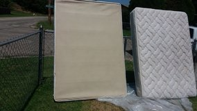 Full size mattress boxspring in Fort Riley, Kansas