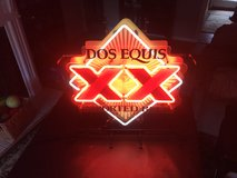 Imported Beer DOS EQUIS NEON SIGN in Camp Lejeune, North Carolina