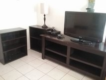 Tv stand $40- and two bookshelves $10 in Yucca Valley, California