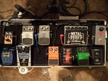 Guitar effects pedals in Yucca Valley, California