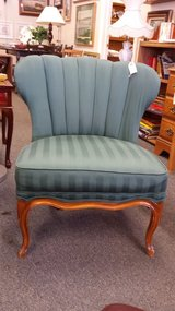 Green side chair in Oswego, Illinois