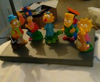 1990 simpsons burger king Happy meal toys in Bellaire, Texas
