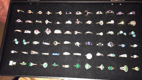 Huge sterling silver ring collection your choice in Alamogordo, New Mexico