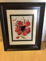 "Framed Flower Print (17.5"" x 14.5"") in Okinawa, Japan"