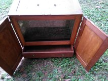 Antique display cabinet in Fort Campbell, Kentucky