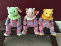 TY Birthday Bears.   August.  October.  November in Chicago, Illinois