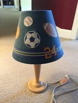Small sports themed lamp in Elgin, Illinois