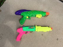 Large water squirt guns in Bartlett, Illinois