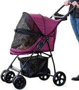 Pet Gear No-Zip Happy Trails Lite Pet Stroller in Naperville, Illinois