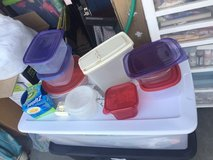 lots of Tupperware containers and bowls in Travis AFB, California