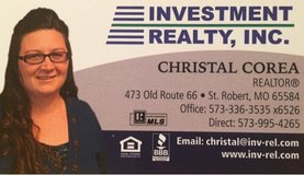 Investment Realty, Inc. in Fort Leonard Wood, Missouri