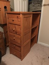 Dresser with drawers and shelf attached in Warner Robins, Georgia