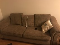 2 couches in good condition in Leesville, Louisiana