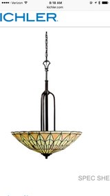 Kichler Chandelier & 3 Pendant Lights in Glendale Heights, Illinois